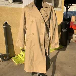 GAP Khaki Trench Coat S